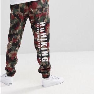Adidas Originals X Pharrell Williams  Camo Pants